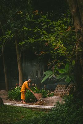 Thailand, Monastery