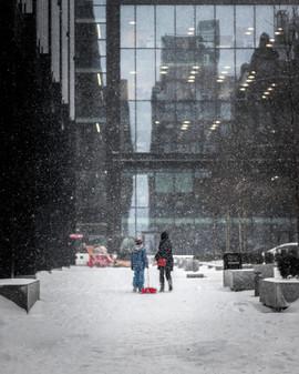 Edinburgh Snow, Quartermile