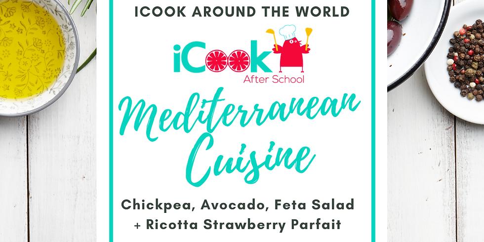 iCook: DROP IN - Chickpea Avocado Salad, Ricotta Parfait