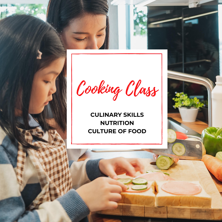 Drop-In Cooking Class: Vitamins!