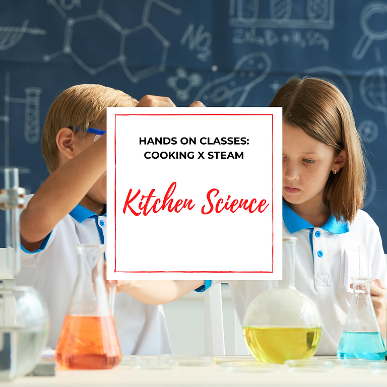 STEAM Kitchen Science Course
