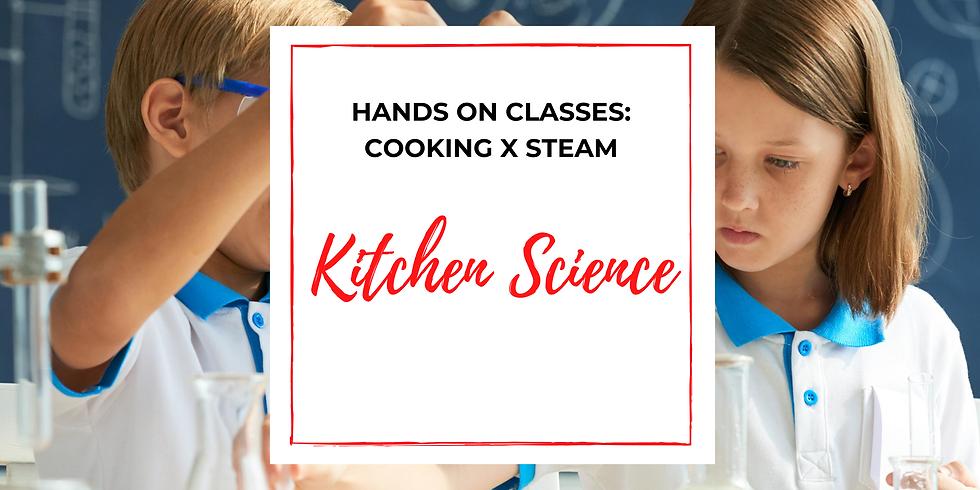 STEAM: Kitchen Science Course