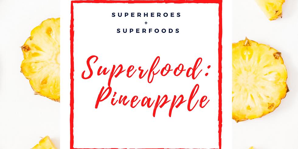 Drop-In Cooking Class: Pineapple Sundae!
