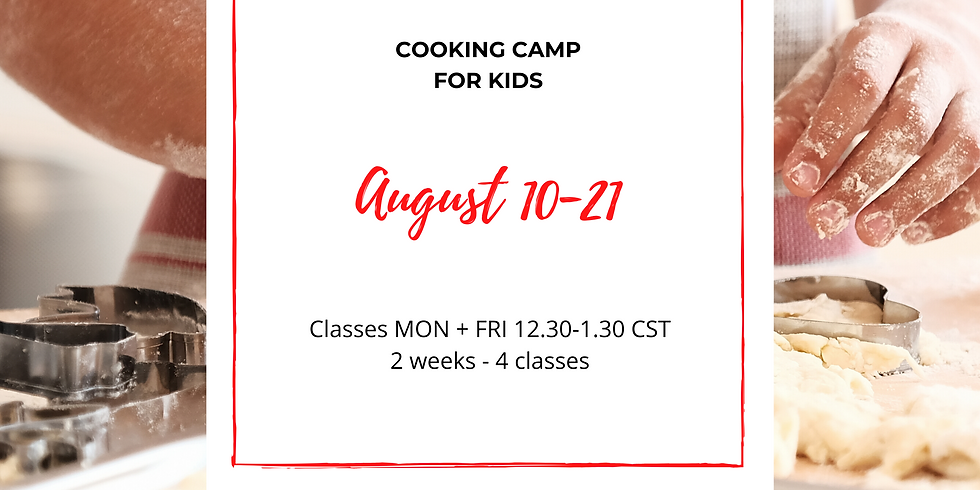 iCook Cooking Camp - Aug 10-21