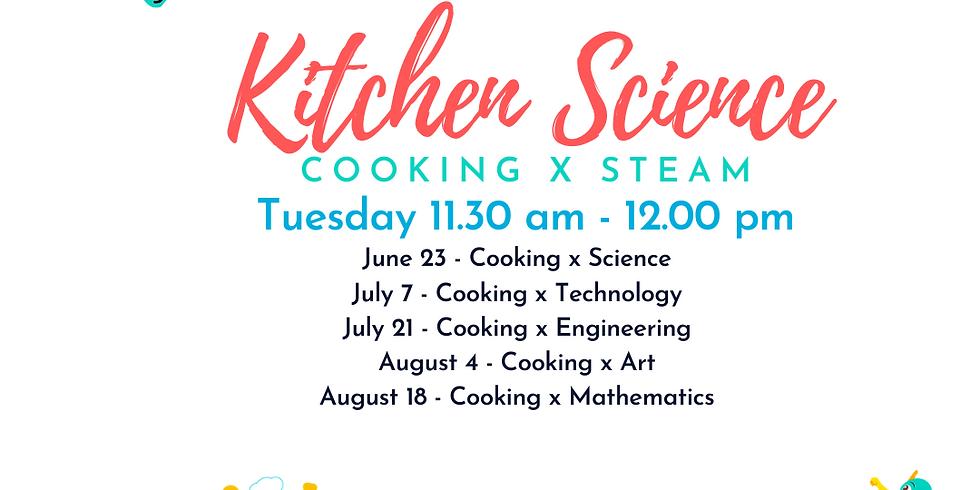 iCook x STEAM: FREE Kitchen Science Series