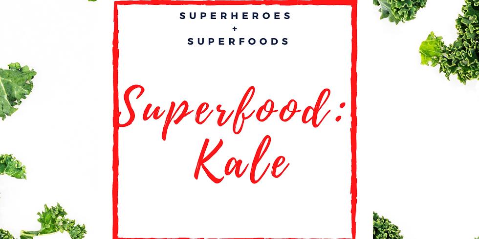 iCook: DROP IN - Kale Guac, Mango Kale Salsa