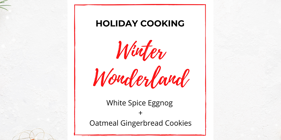 FREE Holiday Cooking Class