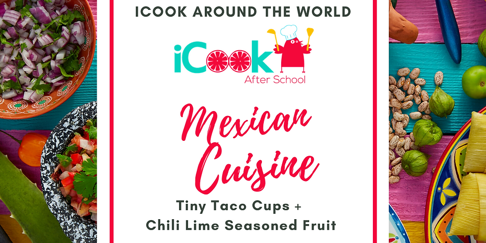 iCook: DROP IN - Tiny Taco Cups, Chili Lime Seasoned Fruit (1)