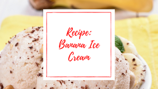 Peanut Butter Banana Ice Cream Recipe