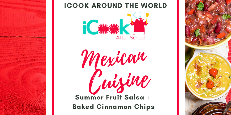 iCook: DROP IN - Summer Salsa and Baked Cinnamon Chips