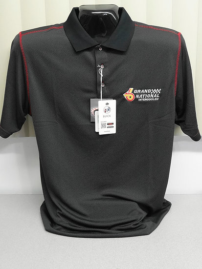Grand National Carbon Fiber Print Polo