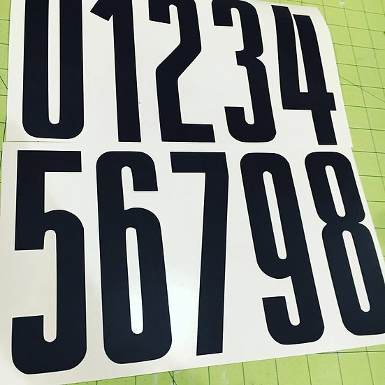 Old School BMX Stadium Numbers
