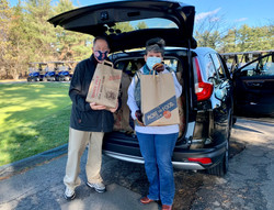 Friends of SH Seniors Thanksgiving Meal Distribution