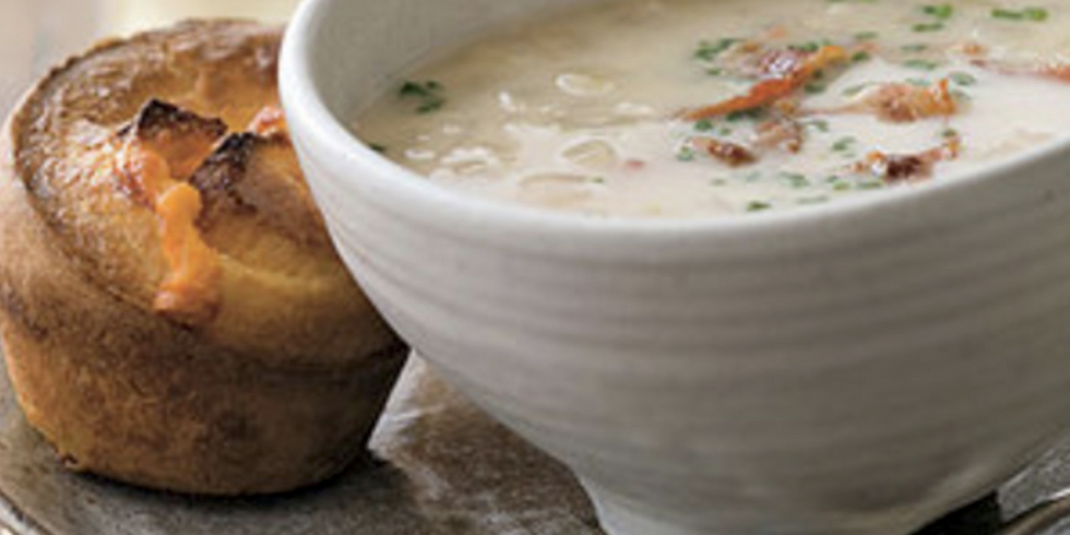 SOUP & POPOVER MEAL