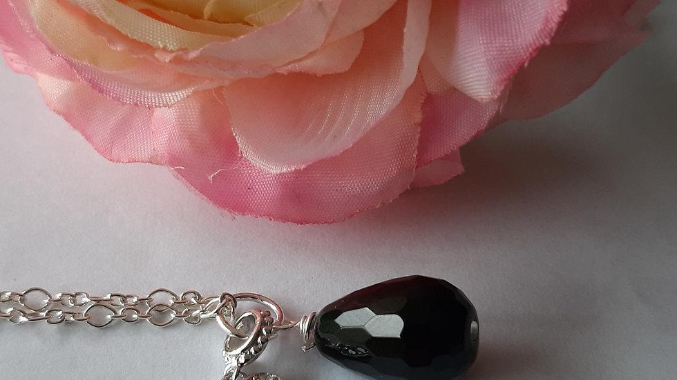 Onyx Black Lover Necklace