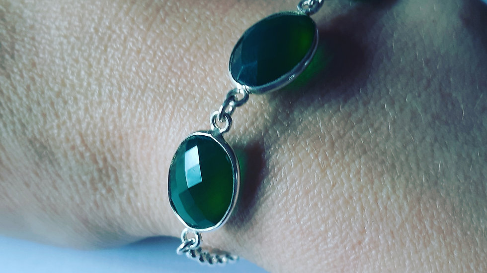 Green Agaat Bracelet