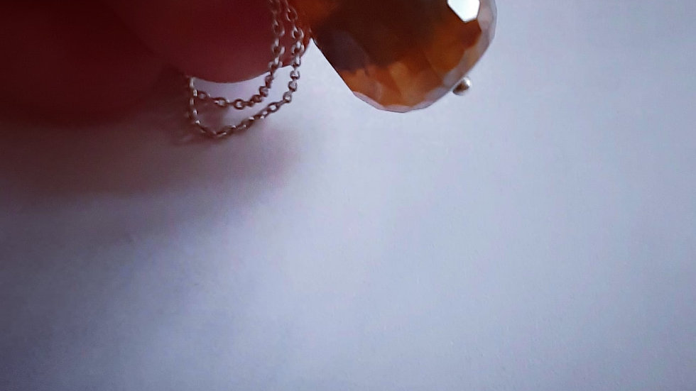 Agaat Stone Necklace