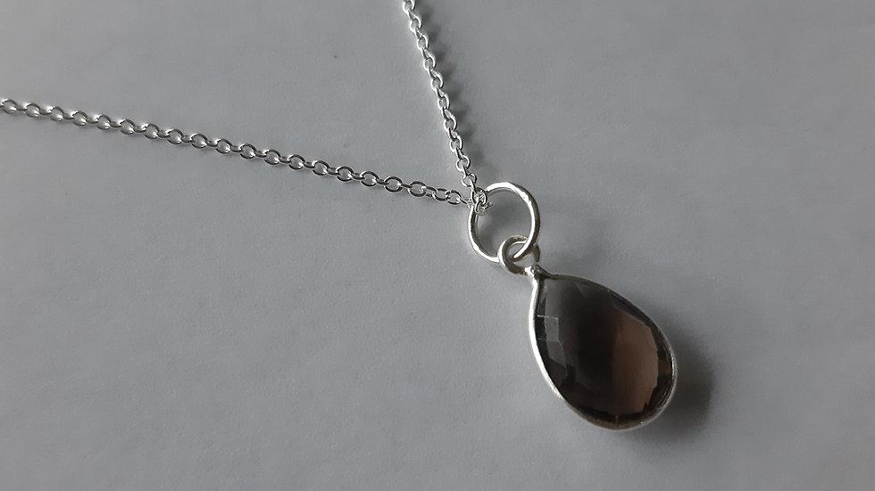 Smokey quartz Witch Necklace