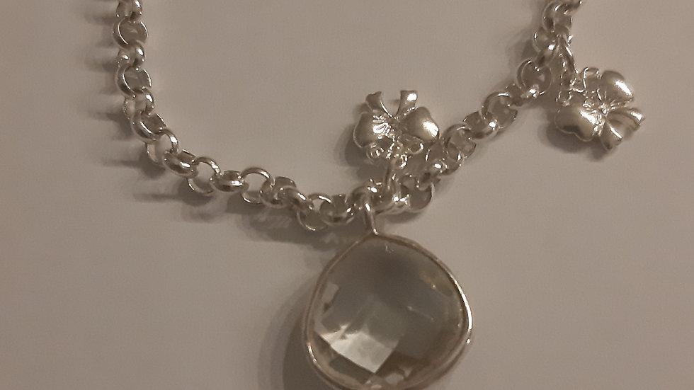 Green Amethyst Bracelet Queen