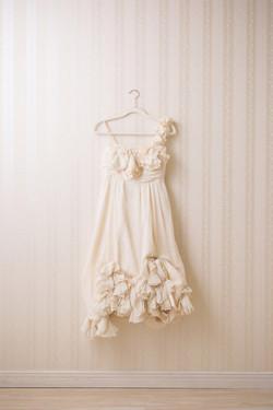 ウエディングドレス ミニ
