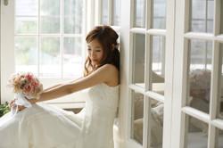 結婚写真 ネイル