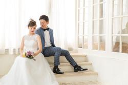 結婚写真 ユニーク