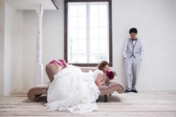 結婚写真 ブーケ