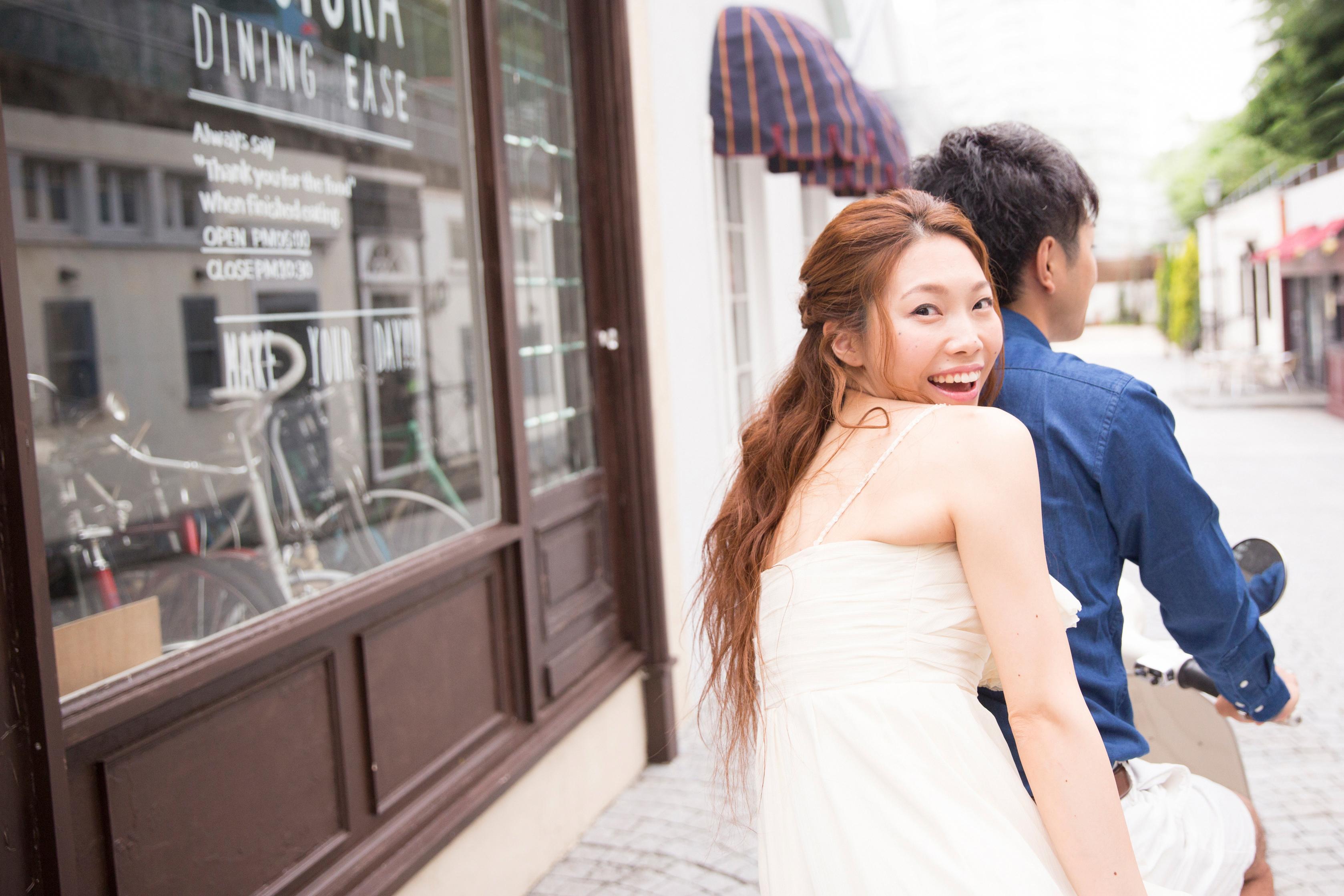 結婚 写真