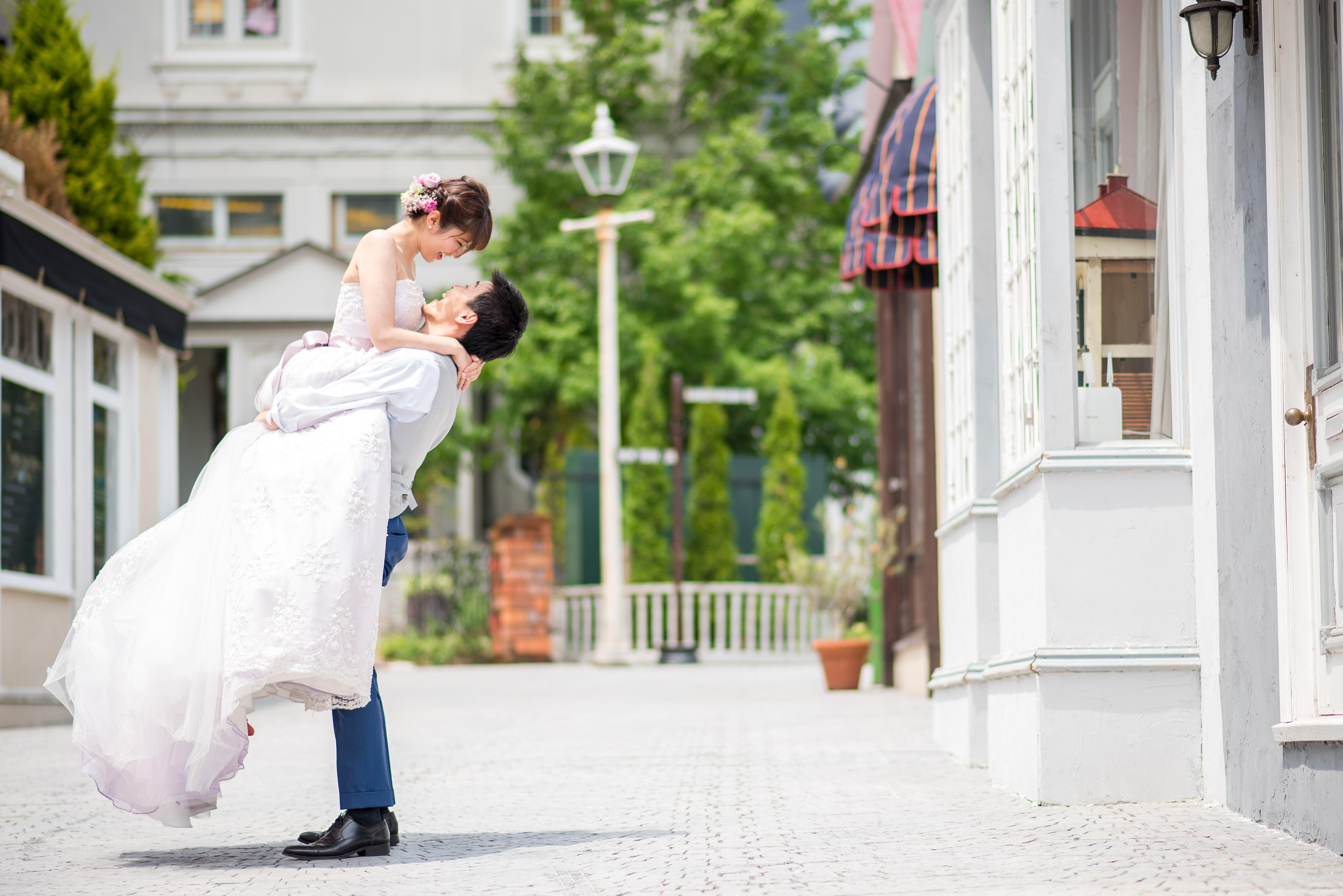 結婚写真 ガーデンパーティ