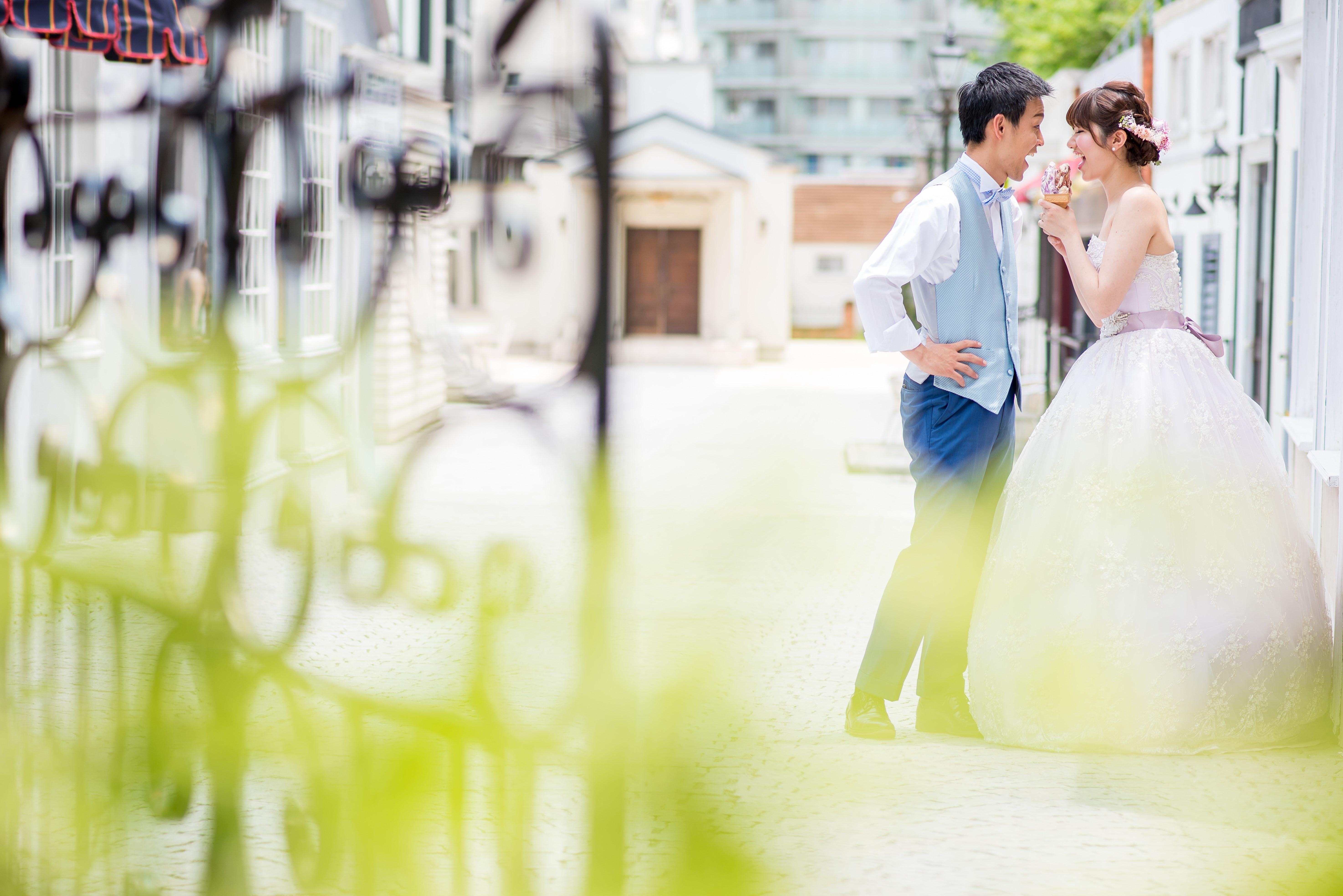 結婚写真 ロケーション 東京