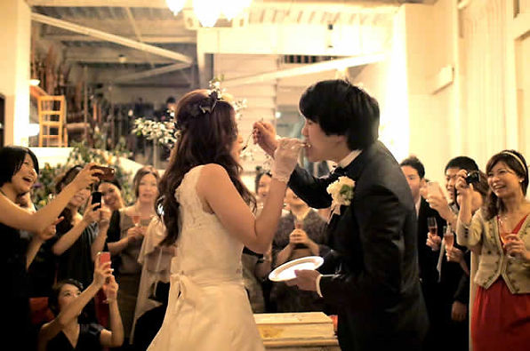 新郎新婦のこだわりがつまった、あたたかい結婚式