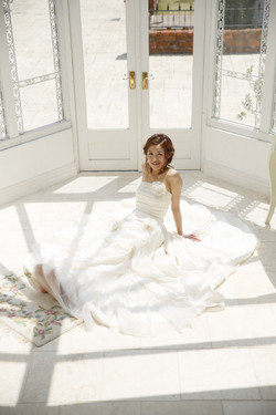 ガーデンウエディング ドレス