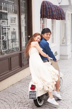結婚 ヘアスタイル