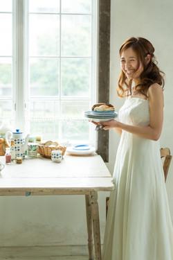 結婚写真 食事会