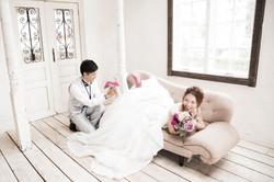 結婚写真 ドレス