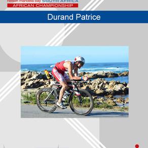 Patrice sur l'Ironman d'Afrique du Sud le 2 avril 2017