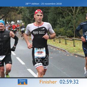 Flo au Marathon de la Rochelle 2018