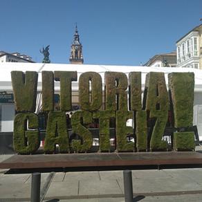 Florent à L'Iron Man de Vitoria Gasteiz