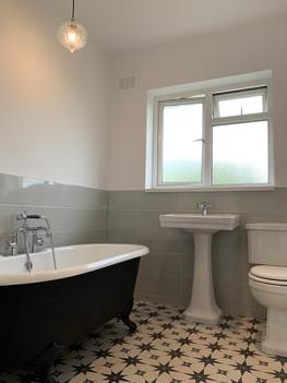 Simple bathroom upgrade in Radyr
