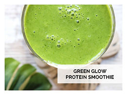 GREEN GLOW PROTEIN SMOOTHIE