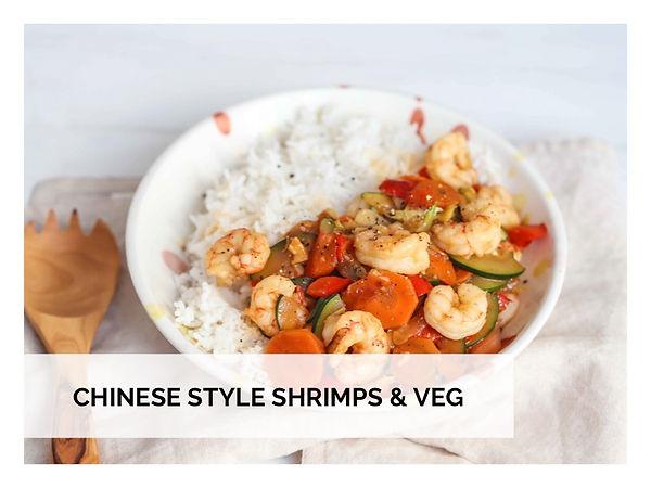 CHINESE STYLE SHRIMPS & VEG