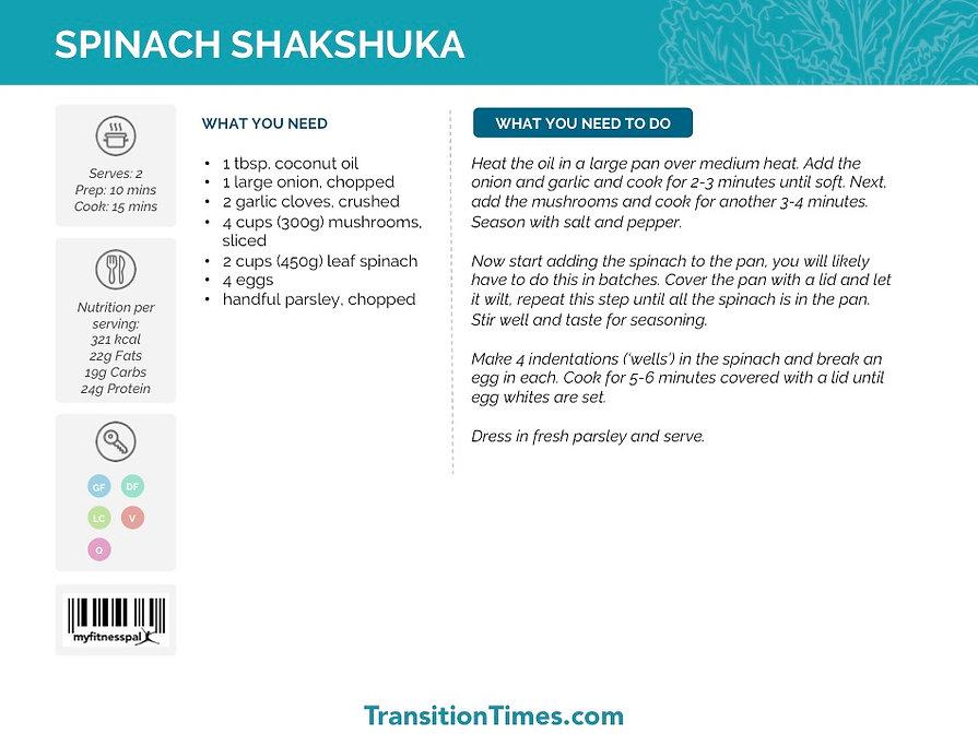 SPINACH SHAKSHUKA