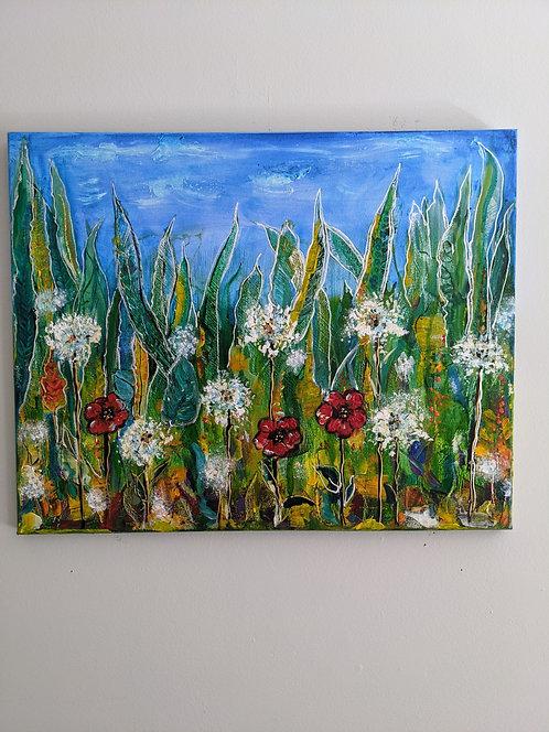 269  Canvas - The Dandelion Dance