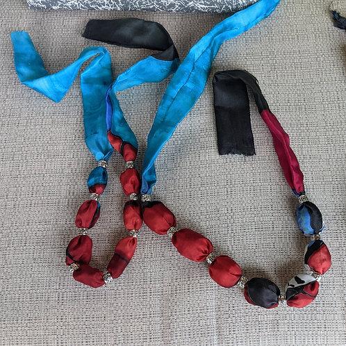 """Short Necklaces  Various colours 30"""" x 1.5"""""""