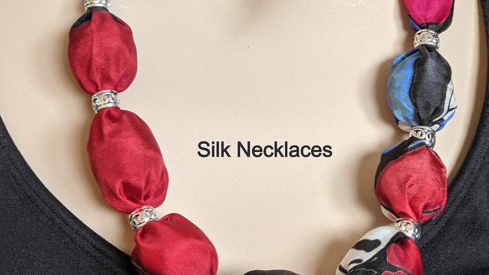 """Medium Length Necklaces  Various colours ( 40""""- 45"""") x 2"""""""