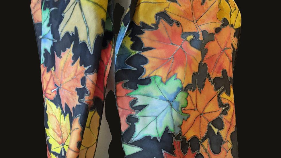 222  Autumn Maple Leaves