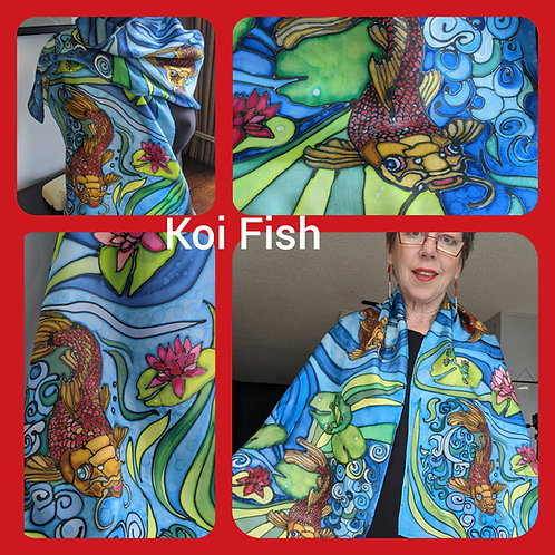 SOLD! 195 Koi Fish and Frogs