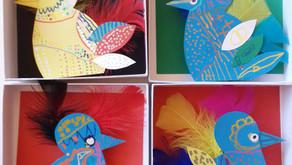Les oiseaux du paradis du centre de loisirs d'Aubin