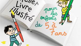 Atelier livre illustré à la MJC d'Onet le Château
