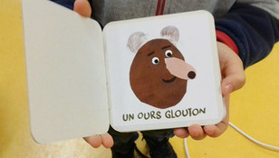 L'imagier des Ours Gloutons au festival Ouvre l'oeil, le 17 octobre.